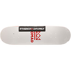 Дека для скейтборда Nomad Crown Logo Nmd3 High Red 31.9 x 8.50 (21.6 см)