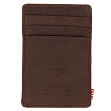 Кошелек Herschel Raven Leather Brown