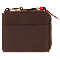 Кошелек Herschel Johnny Leather Brown