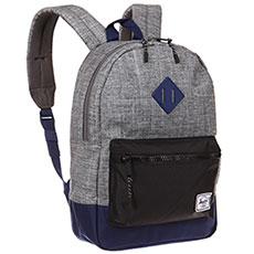 Рюкзак детский Herschel Heritage Youth Raven Crosshatch/Black/Blueprint Rubber