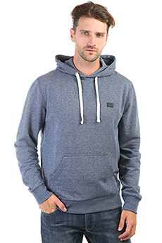 Толстовка кенгуру Billabong All Day Pullover Dark Blue Heather