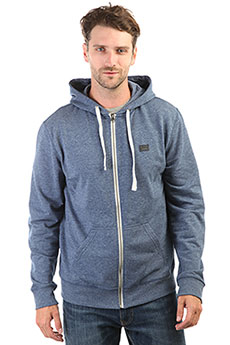 Толстовка классическая Billabong All Day Zip Hoody Dark Blue Heath