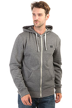 Толстовка классическая Billabong All Day Zip Hoody Dark Grey Heather