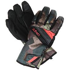 Перчатки сноубордические женские Dakine Sienna Glove Patchwork Camo