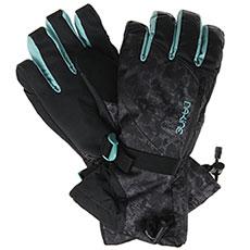 Перчатки сноубордические женские Dakine Sequoia Glove Leopard
