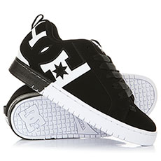 Кеды DC Court Graffik SQ Black/White