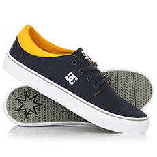 Кеды DC Trase TX Navy/Yellow