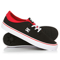Кеды DC Trase TX Black/Athletic Red