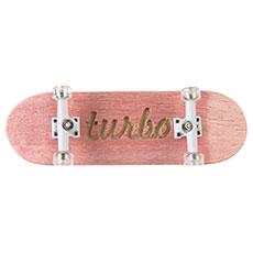 Фингерборд Turbo-FB П10 Гравировка Pink/White/Clear