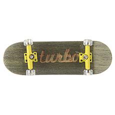 Фингерборд Turbo-FB П10 Гравировка Green/Yellow/Clear
