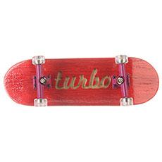 Фингерборд Turbo-FB П10 Гравировка Red/Purple/Clear