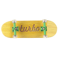 Фингерборд Turbo-FB П10 Гравировка Yellow/Green/Clear