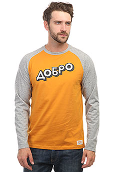Лонгслив Запорожец Dobro 1 Golden Yellow/Grey Sperkale