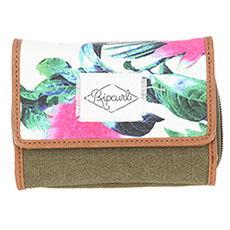 Кошелек женский Rip Curl Fresno Wallet Kaki/Chocolate/Multicolor