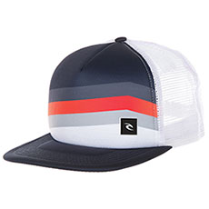 Бейсболка с сеткой Rip Curl React Trucker Cap Optical White
