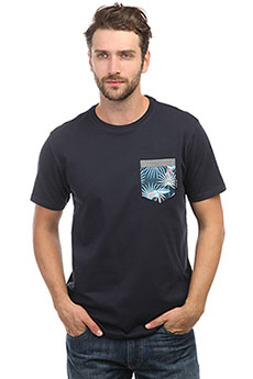 Футболка Billabong All Day Printed Crew Navy