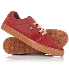 Кеды низкие DC Tonik Dark Red