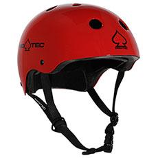 Шлем для скейтборда Pro-Tec Classic Skate Gloss Red
