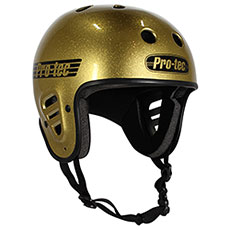 Шлем для скейтборда Pro-Tec Full Cut Skate Gold Flake