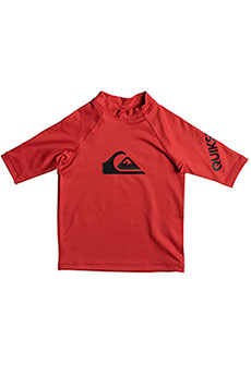Гидрофутболка детская Quiksilver All Time Kid Ss Quik Red
