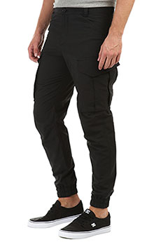Штаны узкие Anteater Cargo Black