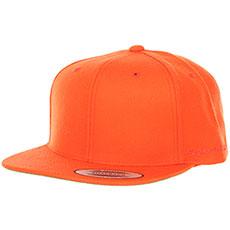 Бейсболка с прямым козырьком Yupoong 6089m Orange