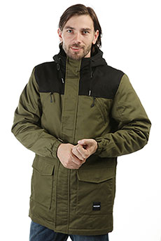 Куртка парка Footwork Urban Fishtail Army Green/Black