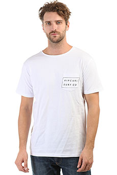 Футболка Rip Curl Surfco Pocket Tee Optical White