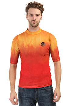Гидрофутболка Rip Curl Corpo Faded Tee Orange