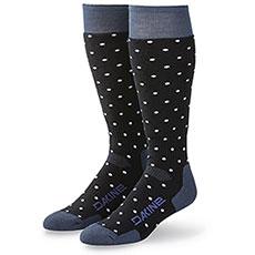 Носки сноубордические женский Dakine Summit Sock Black/Crown Blue