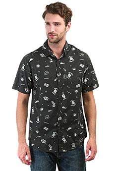 Рубашка Billabong Sunday Mini Black/White
