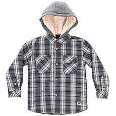 Рубашка утепленная детская Billabong Curtis Ls Shirt Boy Navy