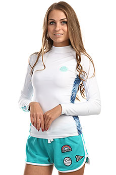 Гидрофутболка женская Rip Curl Womens All Over White