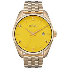 Кварцевые часы женские Nixon Bullet Light Gold/Yellow
