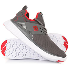 Кроссовки DC Meridian Grey/Red/White