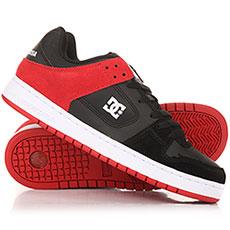Кеды низкие DC Manteca Black/Athletic Red
