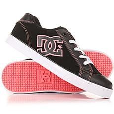 Кеды низкие детские DC Chelsea Se Black/Pink