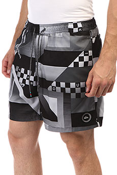 Шорты пляжные Quiksilver Checkerremixvl1 Black