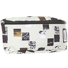 Сумка поясная The Pack Society Bum Bag Beige Blocks Allover-71