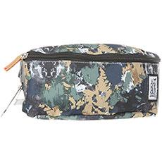 Сумка поясная The Pack Society Bum Bag Green Camo Allover-74