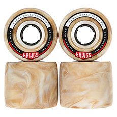 Колеса для лонгборда Hawgs Fattie Hawgs Stoneground Mocha Swirl 78A 63 mm