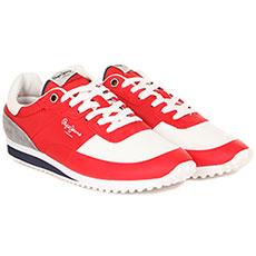 Кроссовки Pepe Jeans London Garret Nylon Красные