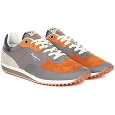 Кроссовки Pepe Jeans London Garret Suede Оранжевые