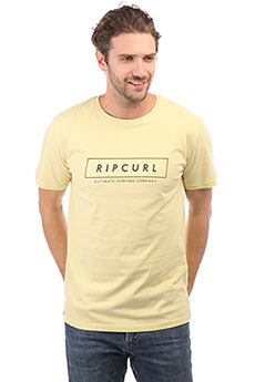 Футболка Rip Curl Undertow Logo Dusty Yellow