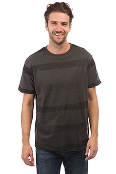 Футболка Rip Curl Broken Stripes Pirate Black