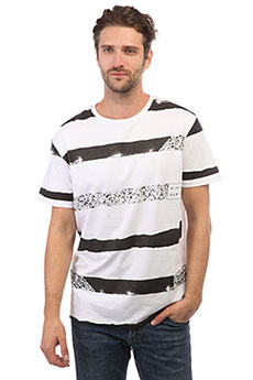 Футболка Rip Curl Broken Stripes Optical White