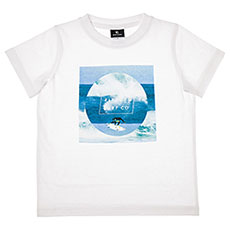 Футболка детская Rip Curl Photoprint Groms Optical White