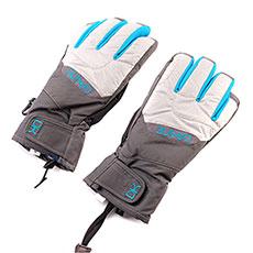 Перчатки сноубордические женские Dakine Tahoe Short Glove Silver Houndstooth