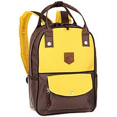 Рюкзак городской Запорожец Olimpiada 80 Small Yellow/Brown