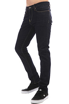 Джинсы узкие DC Worker Slim Sir Indigo Rinse